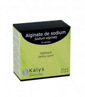 Alginate de sodium - sachet 10 x 2g