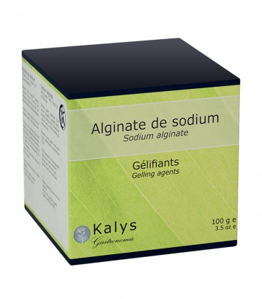 Alginate de sodium - Pot 100 g
