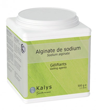 Alginate de sodium - Pot 500 g