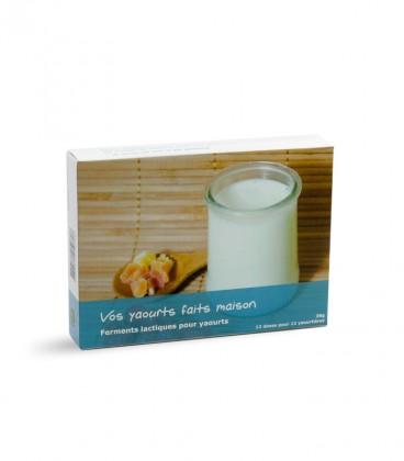 Ferment lactique spécial yaourt - 12 doses (12 yaourtières)