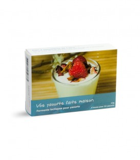 Ferment lactique pour yaourt - 4 sachets (32 yaourts)
