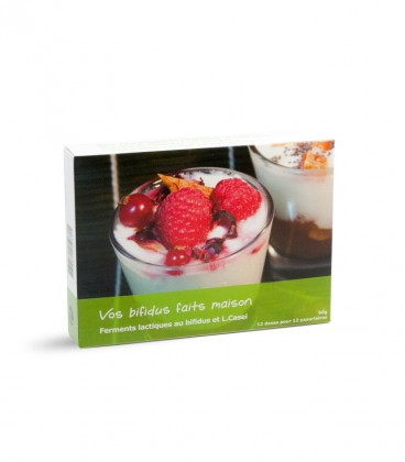Ferments lactiques yaourt bifidus-Lcasei