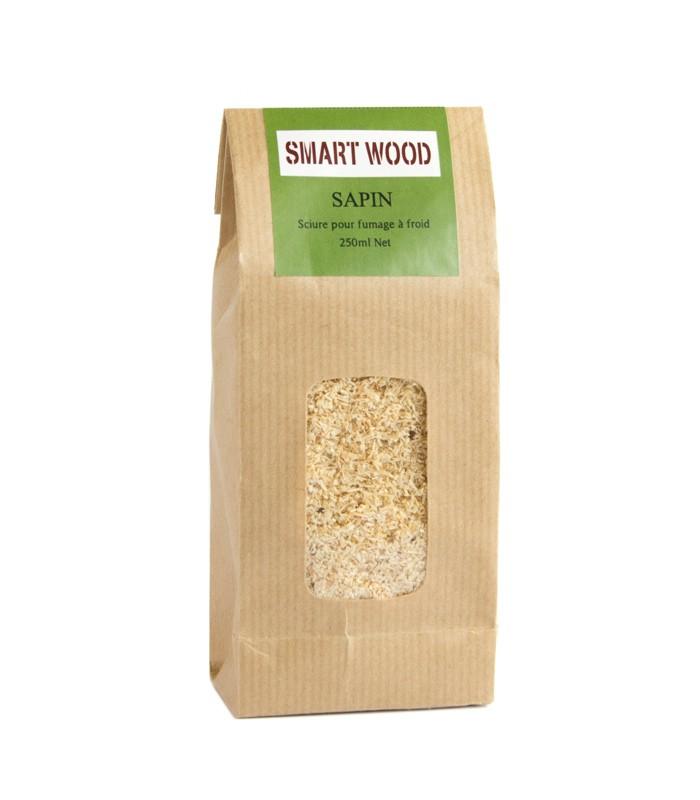 Sciure de bois de sapin pour fumage 250 ml - Sciure pour fumage ...