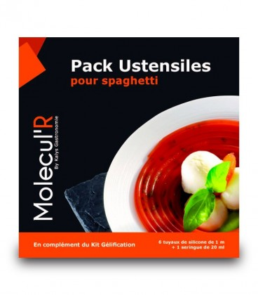 Pack Ustensiles pour Spaghetti moléculaire