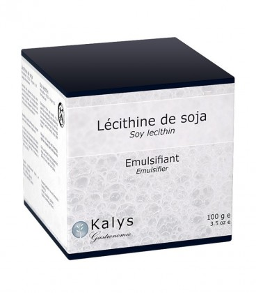 Lécithine de soja - Pot 100 g
