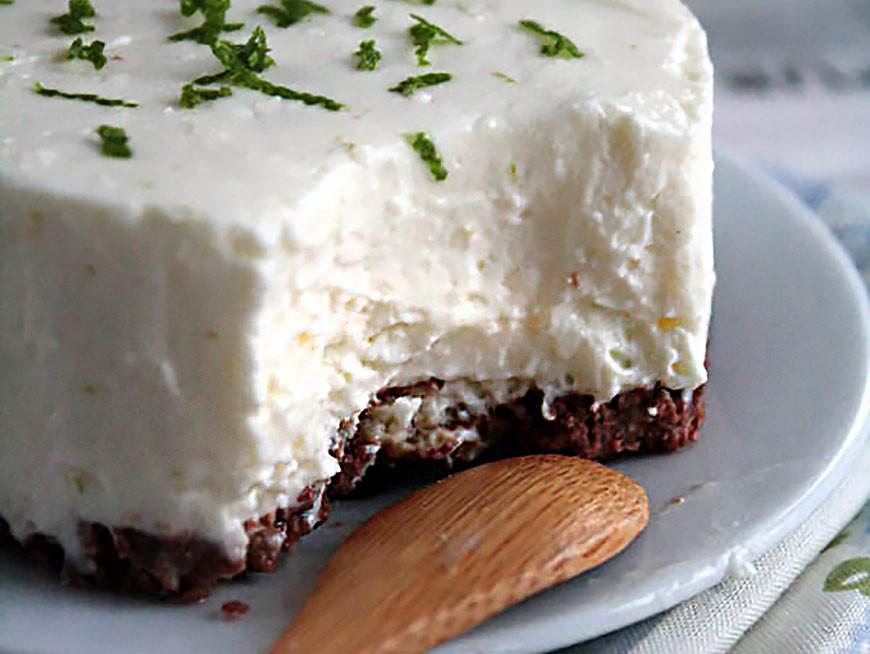 Cheesecake sans œuf et sans cuisson