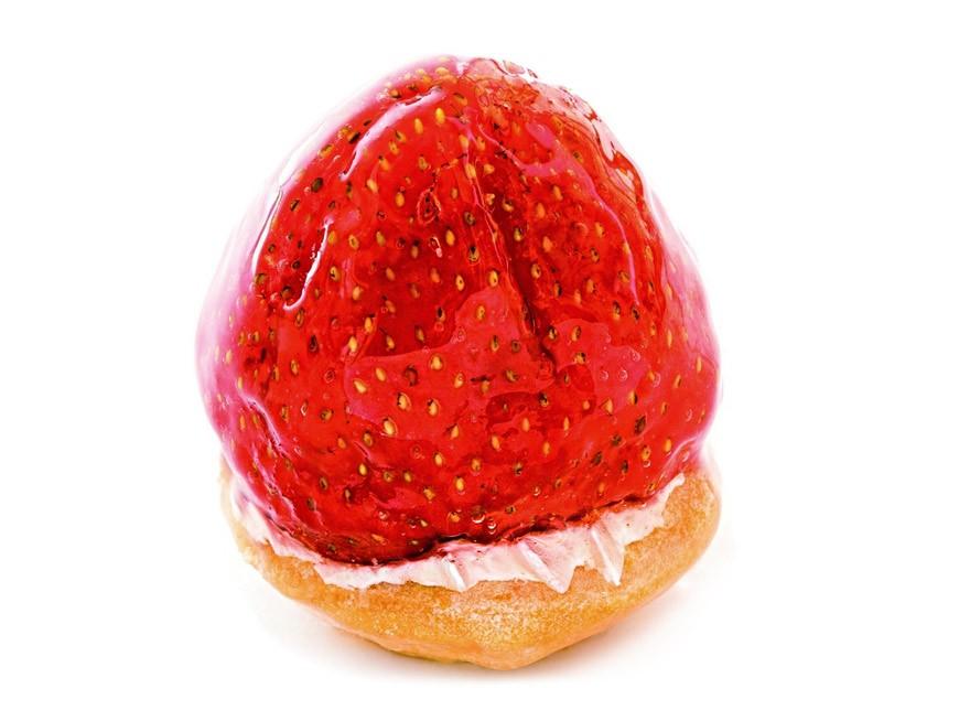 Entremet au fruit rouge